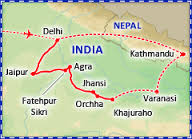 Tours Of India and Nepal
