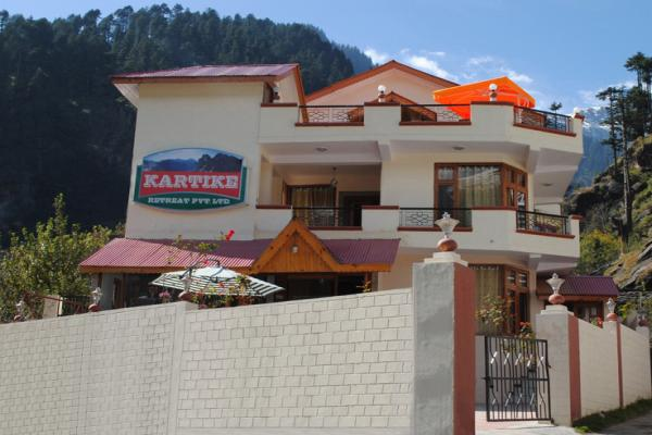 Hotel Kartike Cottage In Manali